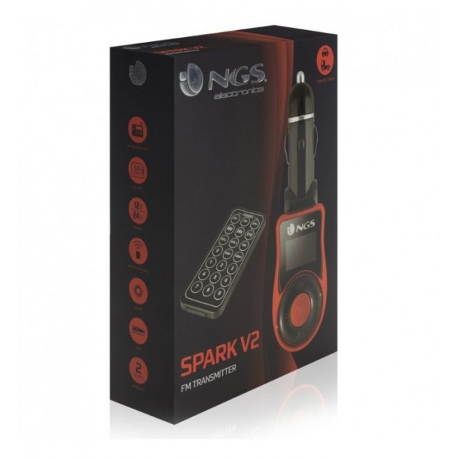 NGS TRANSMISOR FM-MP3 SPARK...