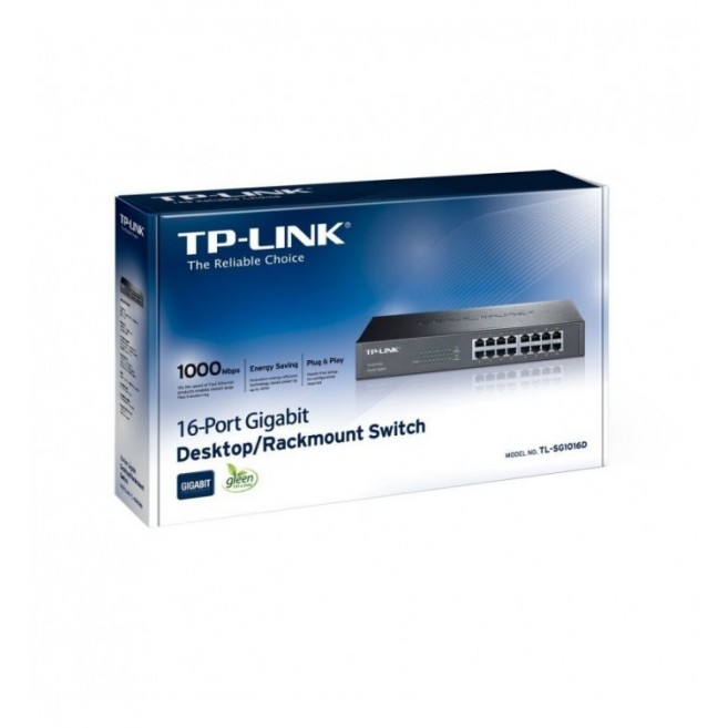 TP-LINK TL-SG1016D SWITCH...