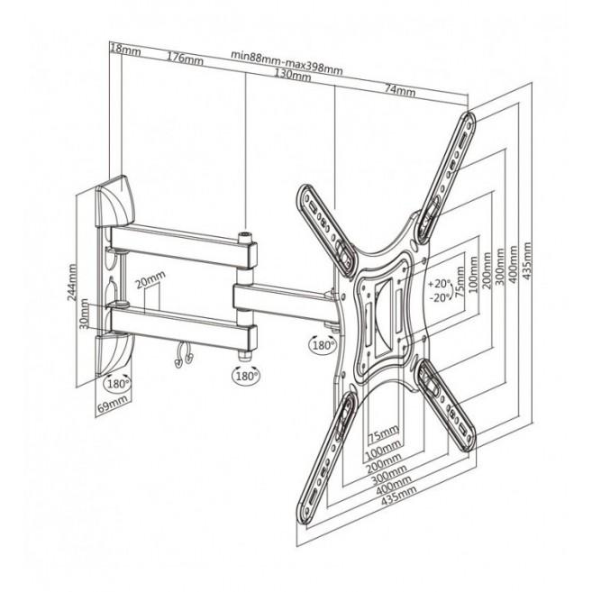 TOOQ TQE-2522B CAJA HD...