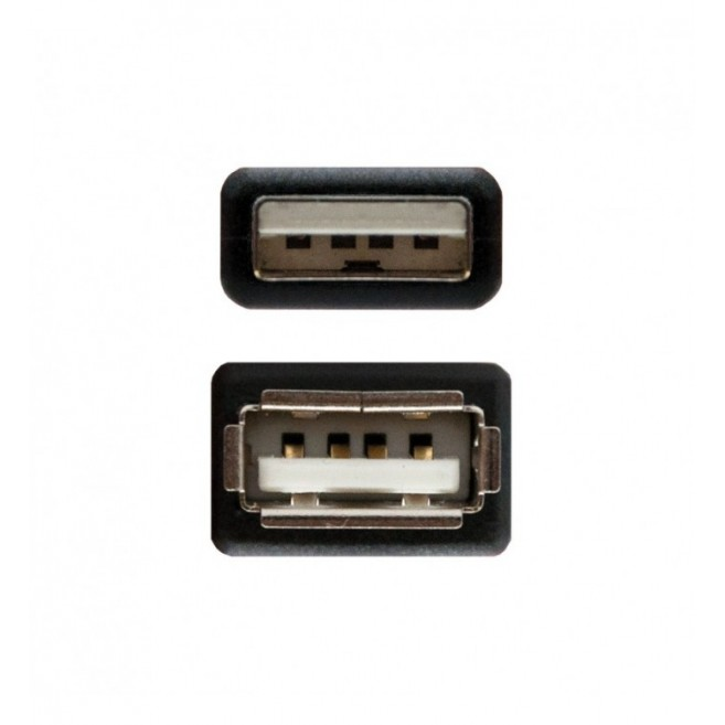 CABLE USB 2.0 TIPO-A M - H...